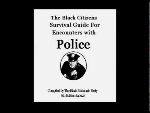 Black Citizens Guide for Encounters with Police - When police ask you to exit your vehicle