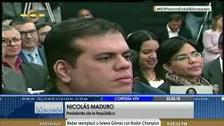 Maduro Anuncia Reconversión Monetaria: He Decidido Retirar Tres Ceros A Las Monedas De Venezuela
