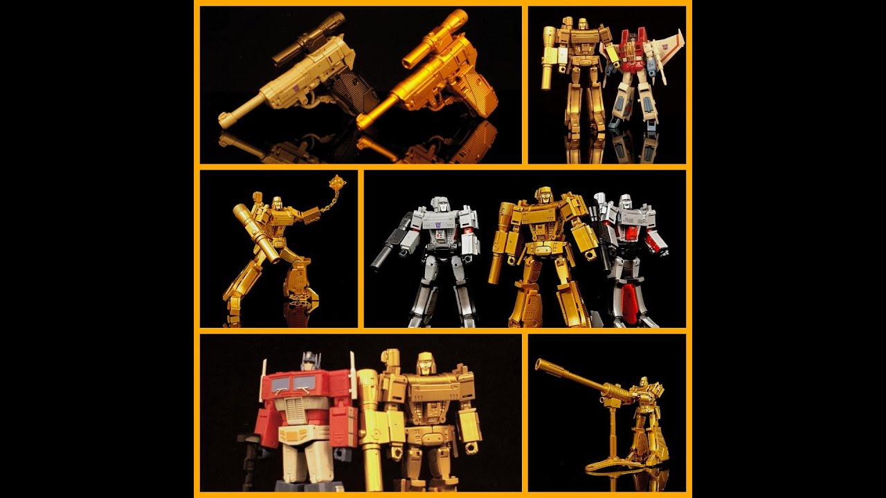 My Review Over NewAge Toys Golden Lagoon Megatron by Deluxe Baldwin