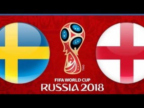 LIVE Football: England v Sweden