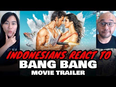 Indonesians React To BANG BANG! Theatrical Trailer | Hrithik Roshan & Katrina Kaif