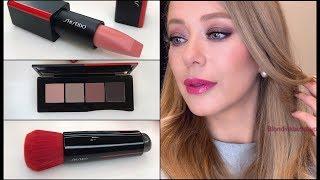 ?  SHISEIDO * Обзор новинок и макияж с  декоративной косметикой Шисейдо  2018 - Видео от blondinka iztokyo