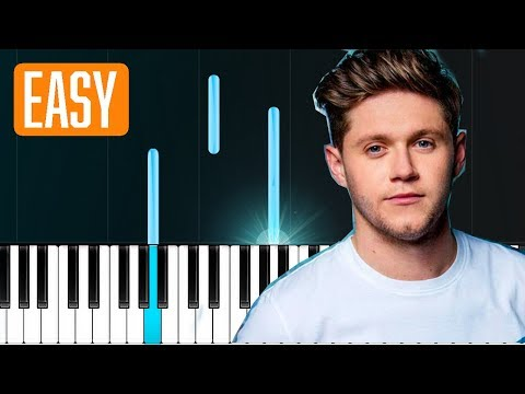 """Niall Horan - """"On The Loose"""" 100% EASY PIANO TUTORIAL"""