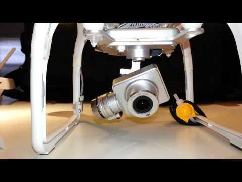 Damaged Gimbal - Bent Arm After Crash - DJI Phantom 2 Vision+ (Plus) Quadcopter