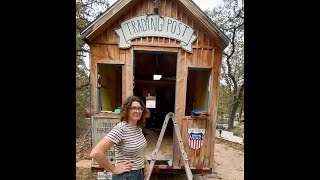 TINY HOME TRADING POST PROGRESS