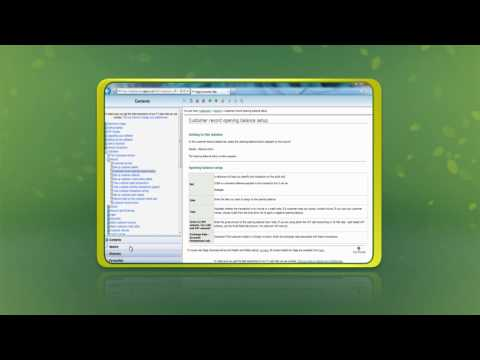 Help Centre and Sign Posting In Sage Instant Accounts 2013