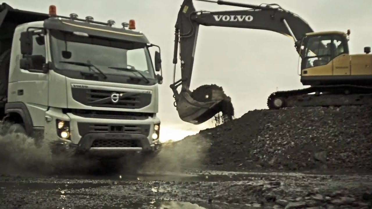 volvo trucks the new volvo fmx in action youtube. Black Bedroom Furniture Sets. Home Design Ideas