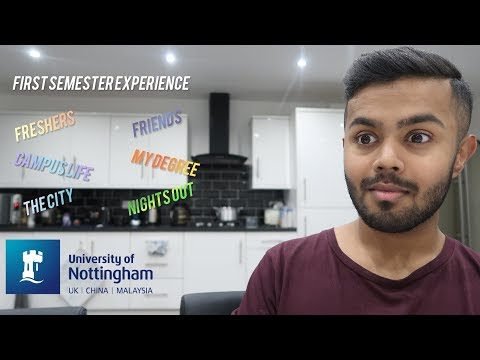 My Experience at the University of Nottingham - First Semester Review