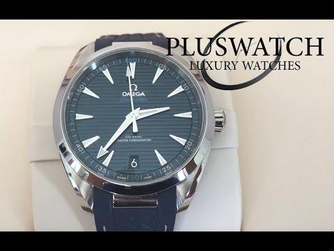 Omega seamaster aqua terra blue dial 22012412103001
