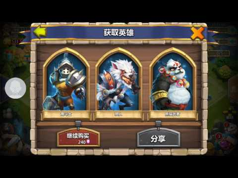 Castle Clash Tencent - Rolled 10,000 Gems, Got Nothing, THEN THIS HAPPENED!