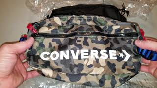 Converse fanny pack unboxing