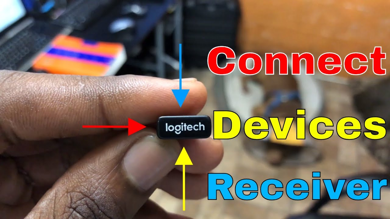 How to Connect LogiTech Mouse & Keyboard To Unifying Receiver | LogiTech |  Get Fixed