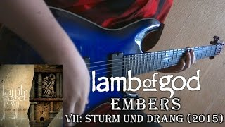 Lamb of God - Embers (Guitar Cover + TAB by Godspeedy)