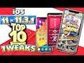 TOP 10 iOS 11 - 11.3.1 Cydia TWEAKS for iPhone, iPad, iPod Touch (iOS 11.3 Tweaks)