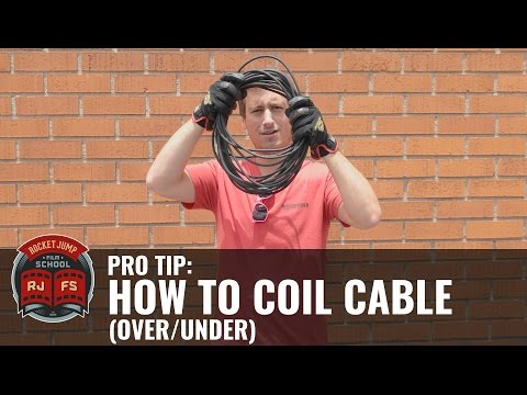 PRO TIP: How to Coil Cable (Over/Under)