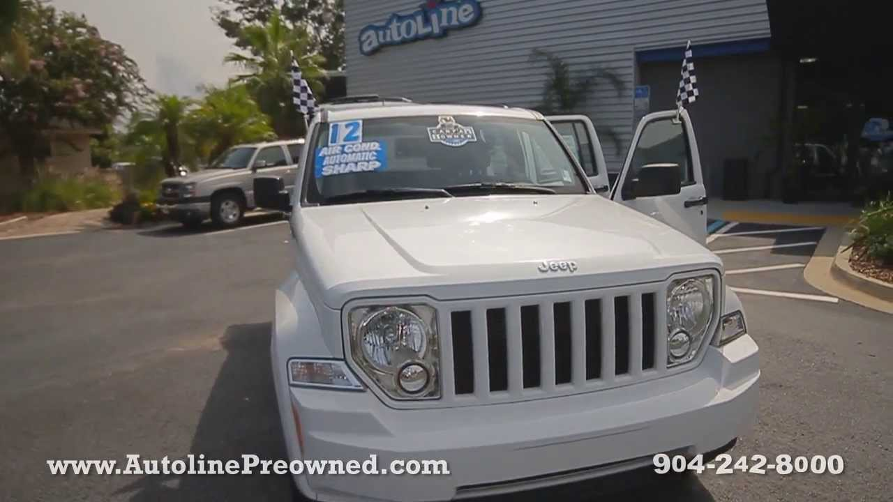 autoline preowned 2012 jeep liberty sport for sale used walk around review test drive. Black Bedroom Furniture Sets. Home Design Ideas