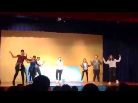 170202 Resurrection College Prep High School V-Show- Kpop Performance (Playing with Fire, TT, Dope)