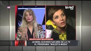 "Javiera Acevedo imita a periodista de ""Maldita Moda"""