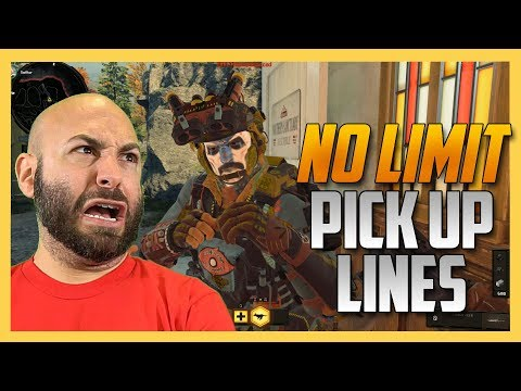 No Limit Pick Up Lines - don't use these in real life, ever.