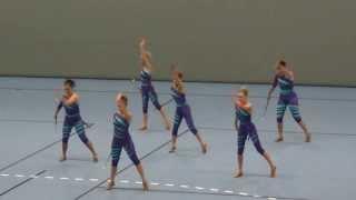 Norgesmestre i drilldans senior (team dance twirl), Manstad Dr…