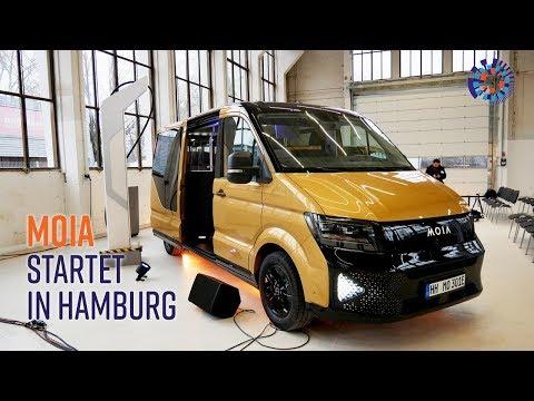 Moia in Hamburg: Wie man hunderte Elektrobusse auflädt