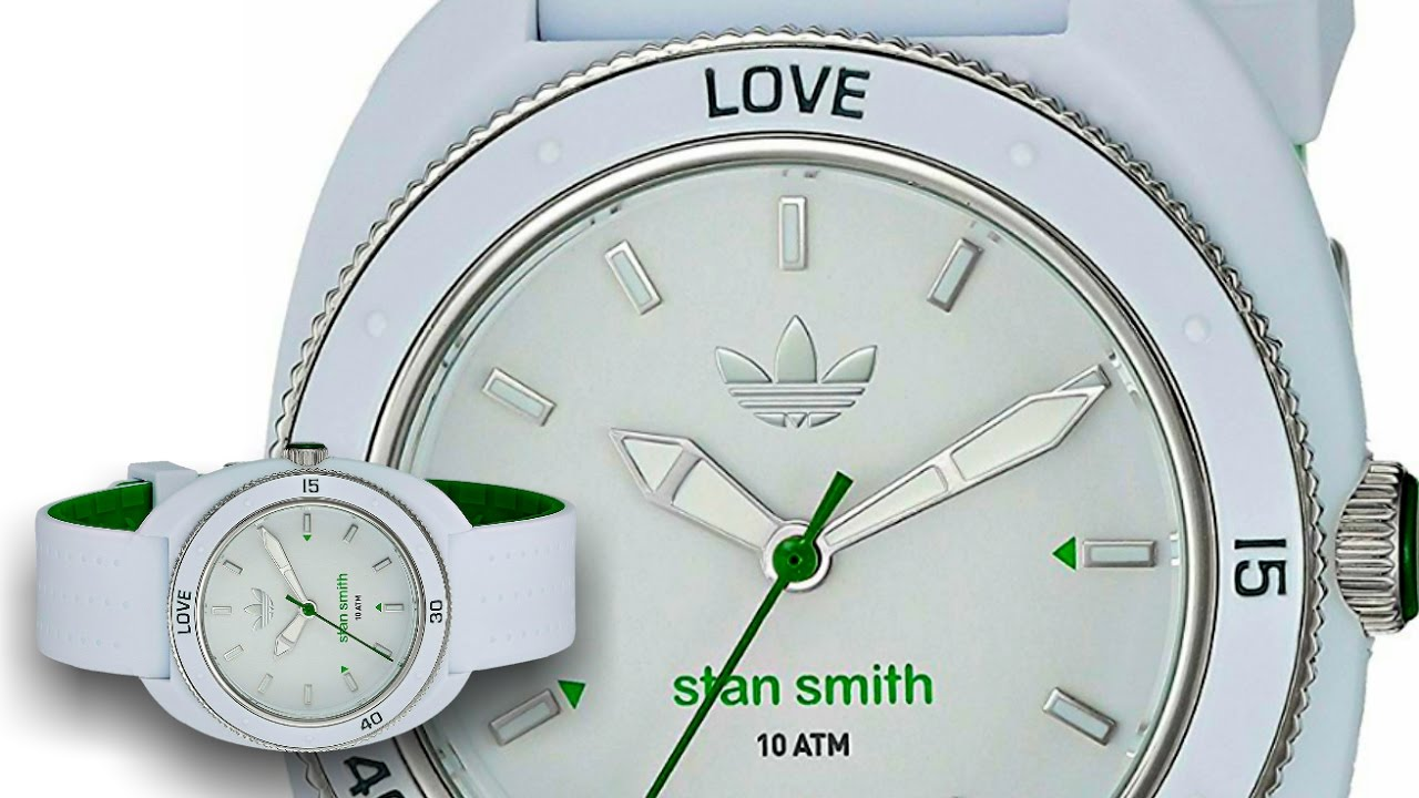 huge selection of 95149 a567c adidas Originals Stan Smith ADH3122 Casual Watch