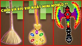 Chổi Và Rìu Vip Nhất Mini World ??? Mini Game