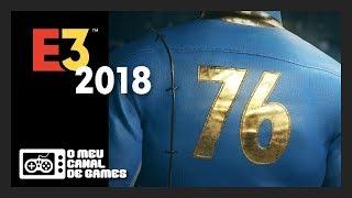 Baixar E3 2018 EM PORTUGUÊS PT-BR c/ TRADUÇÃO SIMULTÂNEA: BETHESDA - CONFERÊNCIA AO VIVO