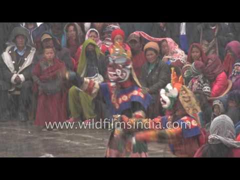 Palden Lhamo Cham, a Tibetan folk dance