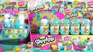 Shopkins Season 3 Mega Pack 12 Packs Blind Baskets Unboxing