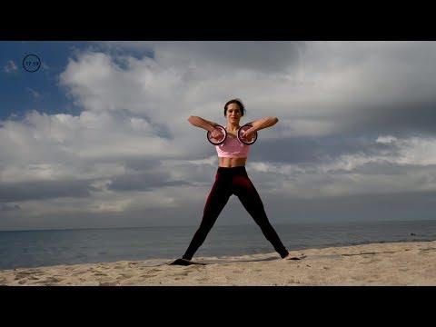 25 Min Dumbbell Full Body Workout | Burn 150 Calories