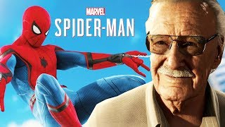 R.I.P Stan Lee, The Last Cameo Appearance In Spider-Man PS4 Gives Chills