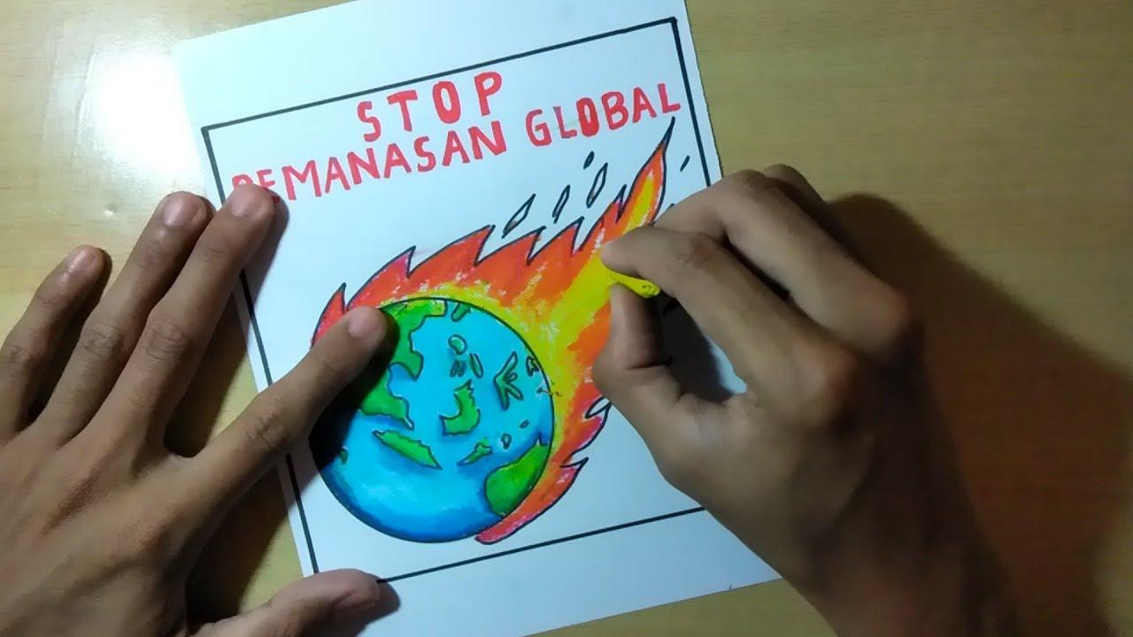 15 Trend Terbaru Gambar Poster Stop Global Warming Nikies Diary
