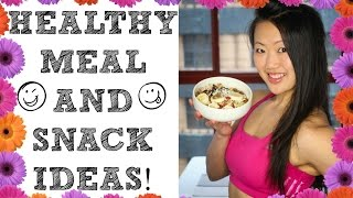 ❤ Food I Eat (healthy Meal & Snack Ideas) | My Food Diary