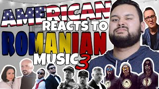 American REACTS Romanian Music 3