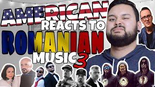 American REACTS // Romanian Music 3