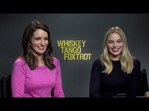 Exklusiv Interview - Tina Fey & Margot Robbie in Whiskey Tango Foxtrot