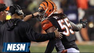 NFL Playoffs: Vontaze Burfict, Bengals Choke Vs. Steelers