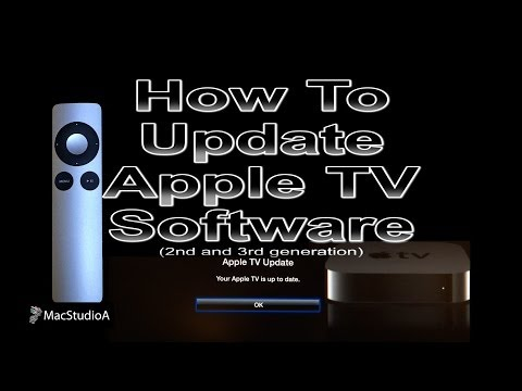 How to update apple tv 1st generation
