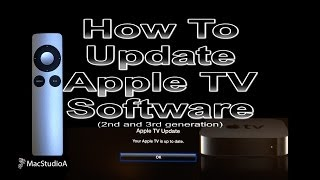 How To Update Apple TV Software