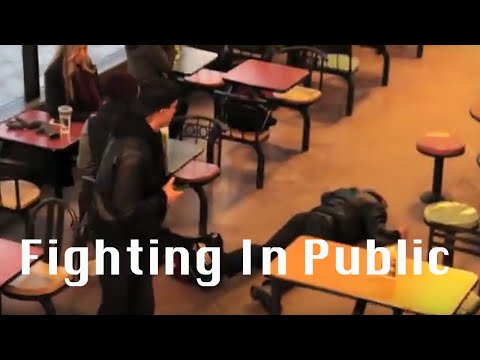Fighting/confrontations in Public (University of Guelph)