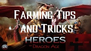 Heroes of Dragon Age iOS Farming Tips and Tricks for Quests, Combining, and Battles