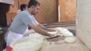 Diyarbakır Ekmeği Yapımı