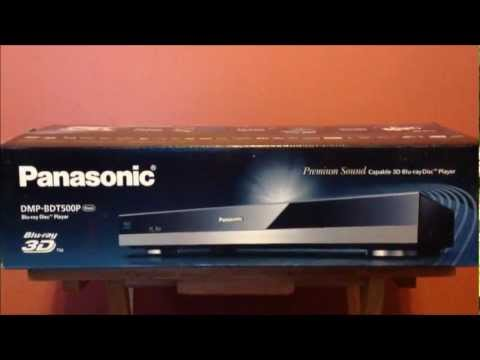 PANASONIC DMP-BDT500** HANDS ON & REVIEW**FULL 3D PLAYER