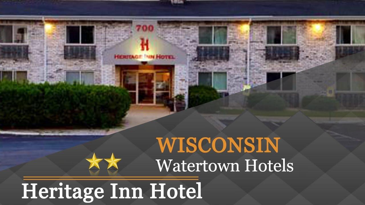 Heritage Inn Hotel Watertown Hotels Wisconsin