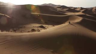 INSIDE - Stage 2 - The Amazing dunes of Merzouga from the sky