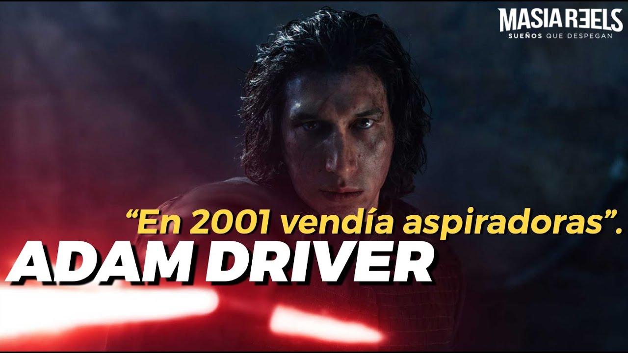 """ADAM DRIVER - """"En 2001 vendía aspiradoras y cortaba el césped"""""""