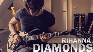 Diamonds - Rihanna - Tanguy Kerleroux (Guitar Cover) HD
