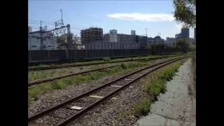東京都港湾局専用線の廃線跡を歩いてみた。