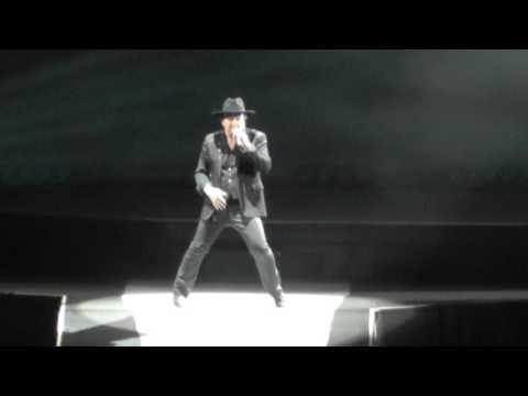 U2 6/28/17: 14 - Exit (w/ trump intro) - East Rutherford,NJ